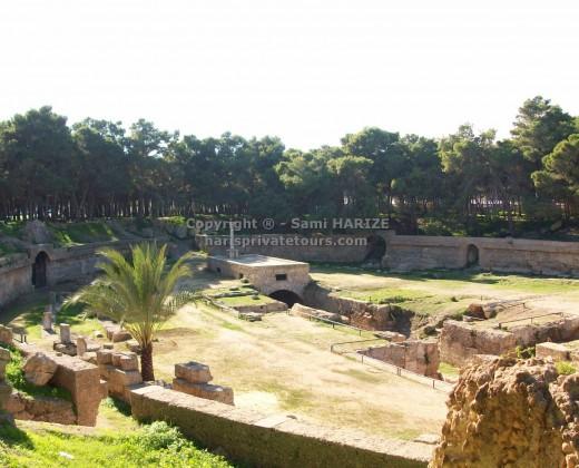 visite amphithéâtre carthage