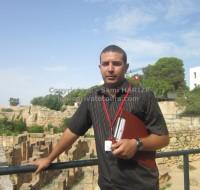 découverte des ruines en tunisie
