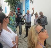 visite des ruelles de sidi bou said