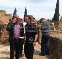 visite de site archéologique en tunisie