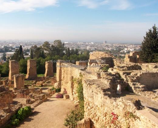 site archéologique carthage tunisie