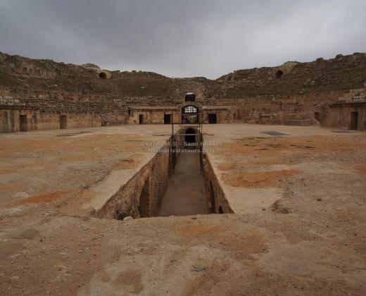 visite amphithéâtre uthina tunisie
