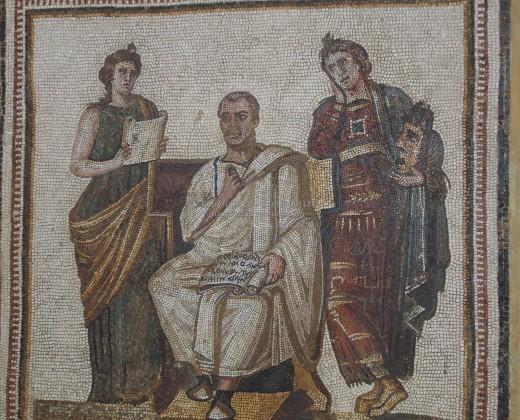 Mosaic Bardo Museum Tunisia